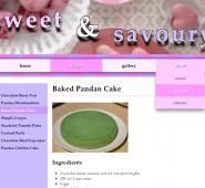 Sweet & Savoury Screen